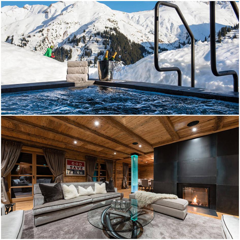 Lech ski resort, Lech luxury chalet