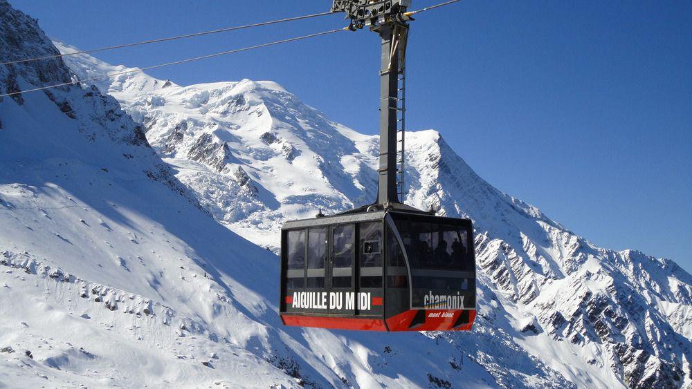 Aiguille du Midi, Chamonix Cable Car, Mont Blanc Cable Car