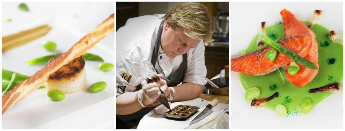 gourmet cuisine at Bighorn Revelstoke, catered ski lodge Canada, catered chalet Revelstoke, catered ski lodge Revelstoke