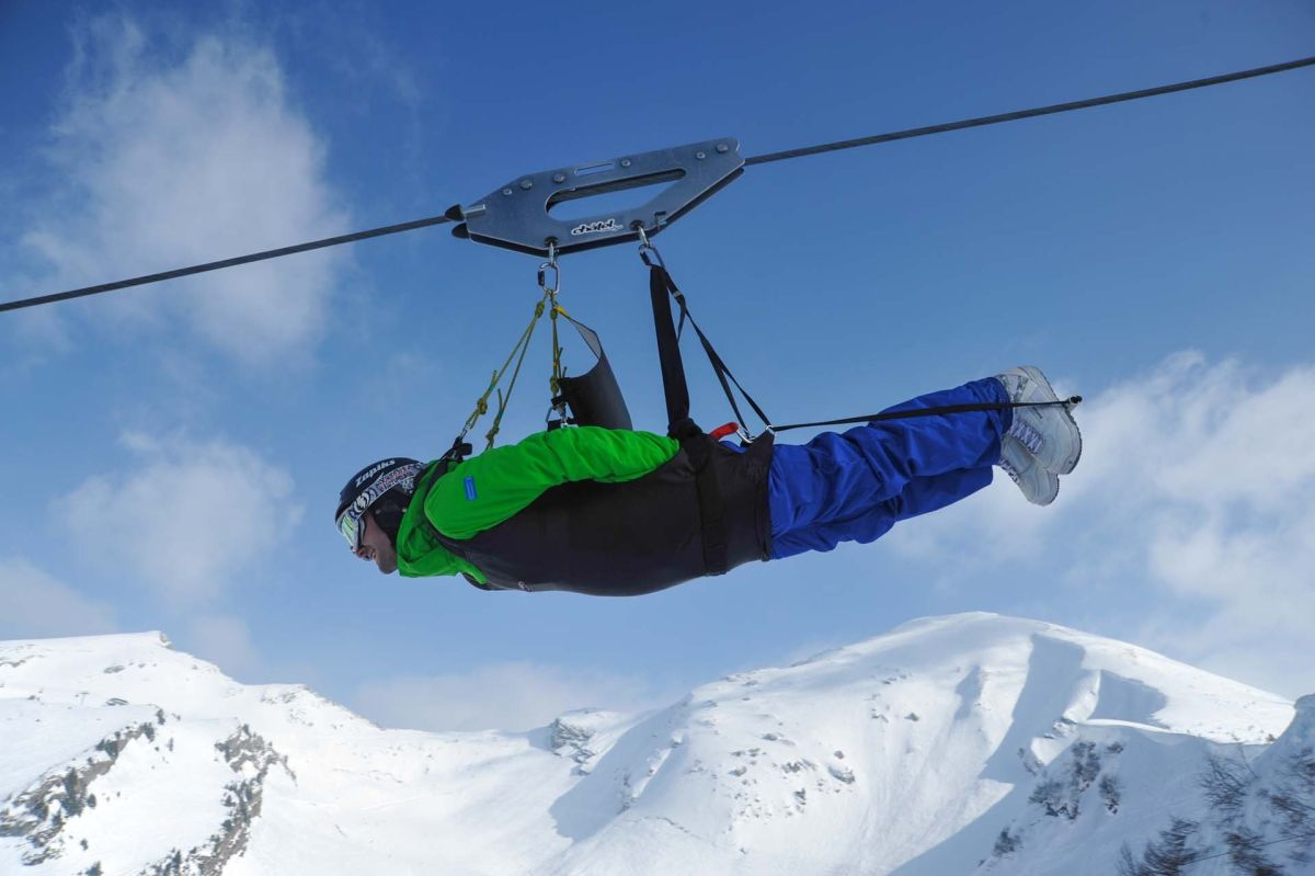 fantasticable Chatel, zip line Chatel, non-ski-activities in Chatel, non-ski activities Portes du Soleil, family activities Portes du Soleil