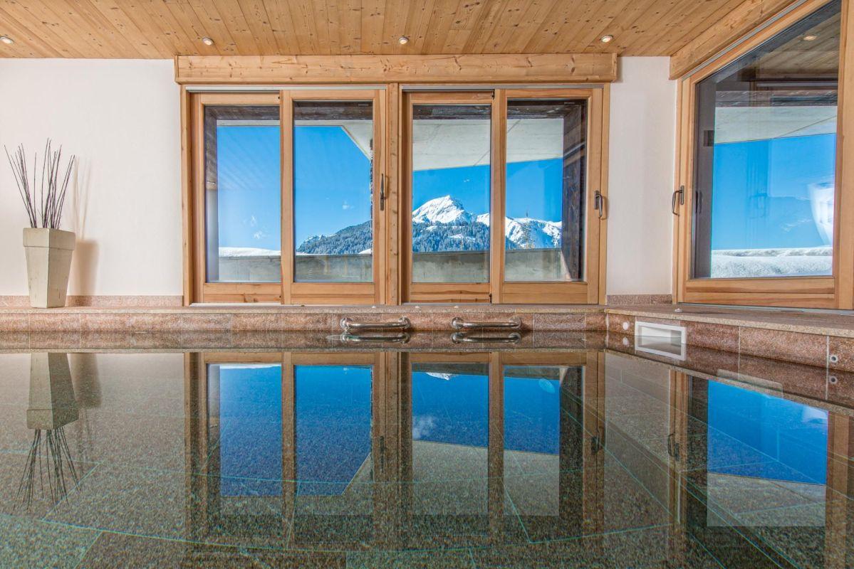 ski chalets with a pool Portes du Soleil, Chatel ski chalets with a pool, luxury chalet with a pool Chatel, Chatel ski holiday