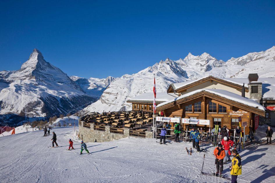 lunch in Zermatt, mountain restaurants in Zermatt, Zermatt restaurants on the piste, restaurants in Zermatt