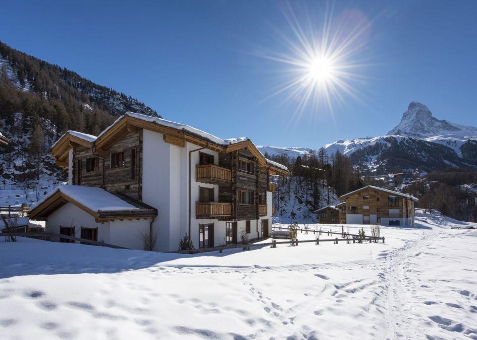 self-catered apartment Zermatt, luxury apartments in Zermatt, luxury accommodation Zermatt, luxury ski holiday Zermatt, Zermatt self-catered ski holiday