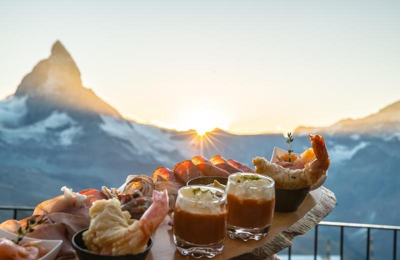 Zermatt, Matterhorn, Food, Restaurants, Mountains, Self-catered