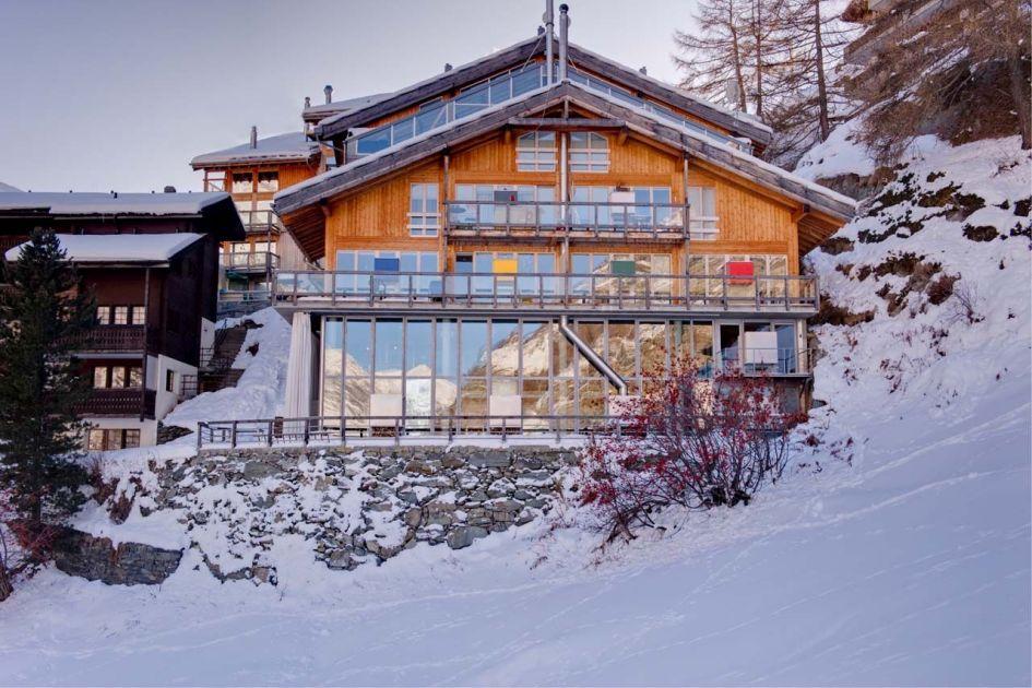 self-caters ski chalets in Zermatt, Zermatt self-catered holidays, luxury self-catered chalets Zermatt