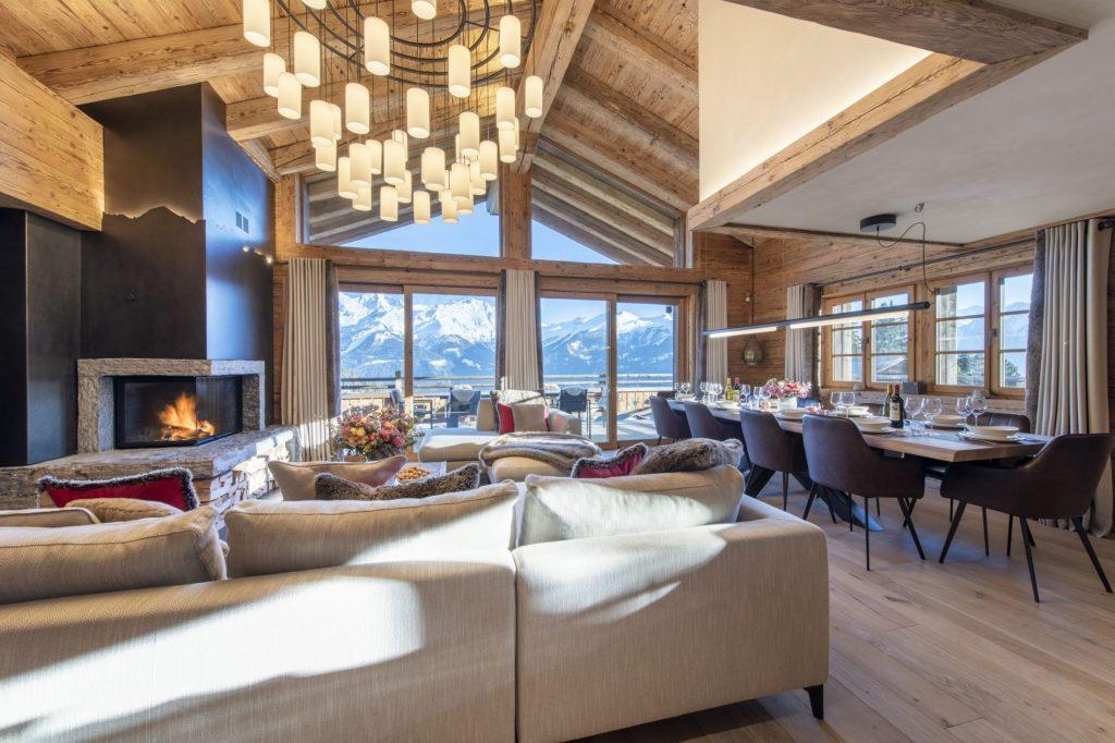 Chalet WestRock, Verbier seasonal rentals, seasonal chalet verbier, luxury chalet rental in verbier