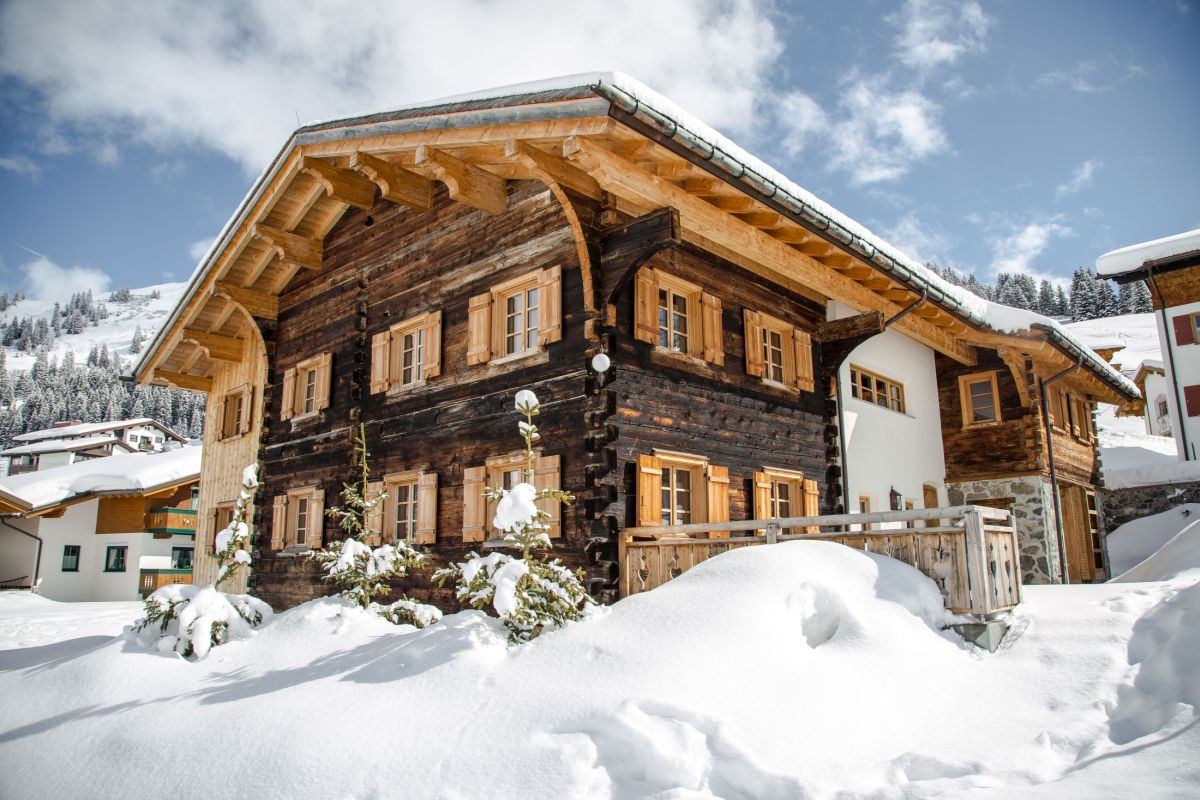 Ski chalets in Austria, Self catering Austrian Alps, Self catering holidays in Austria, (luxury) ski chalets in Lech, Luxury chalets Lech