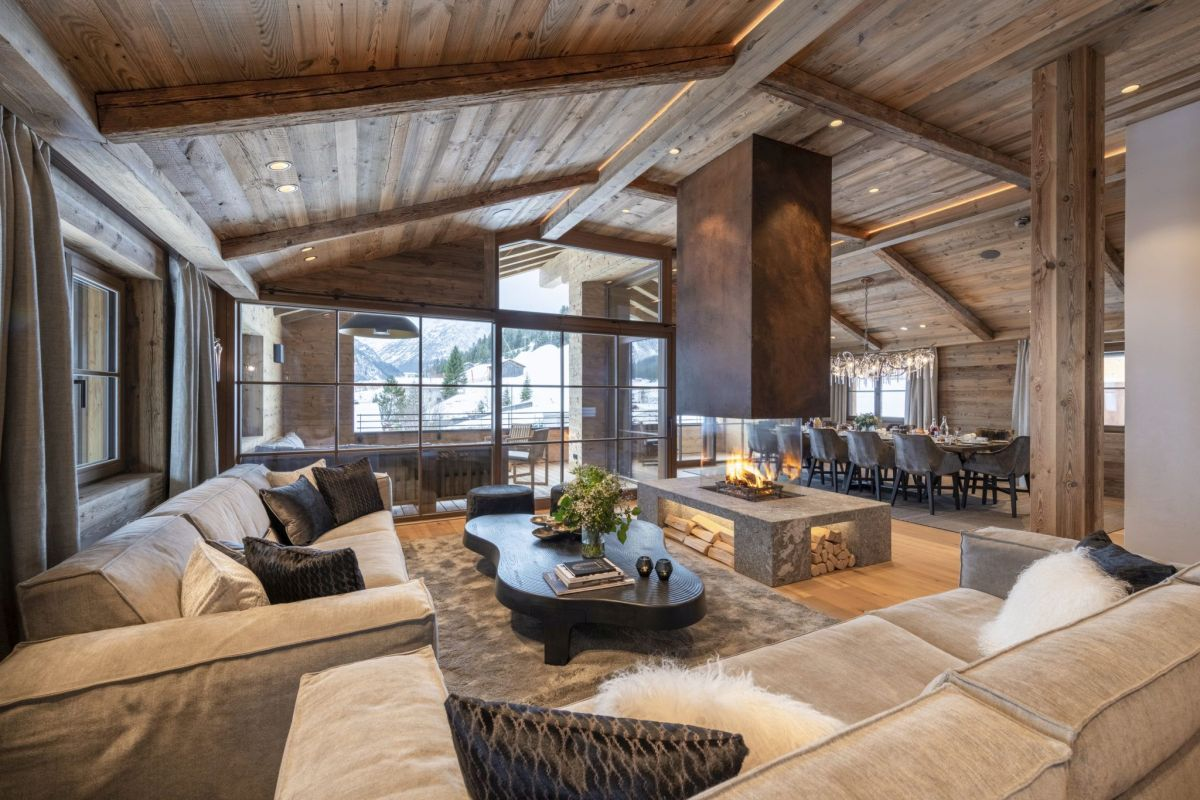 self catered chalet Lech, self catered chalets Austria, luxury ski chalets in Lech, Luxury chalets Lech