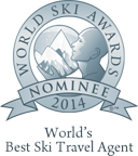 World's best ski travel agent 2014 nominee