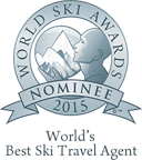 World's best ski travel agent 2015 nominee
