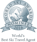 World's best ski travel agent 2016 nominee