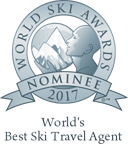 World's best ski travel agent 2017 nominee