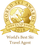 World's best ski travel agent 2018 top 3